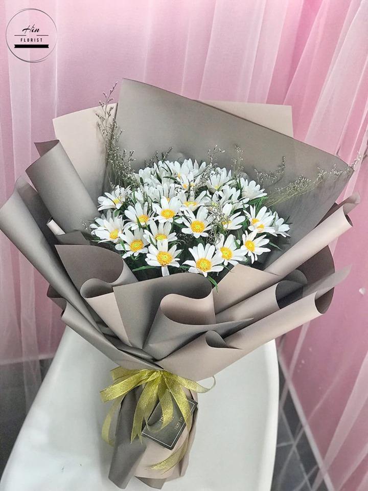 Cúc họa mi hoa giấy