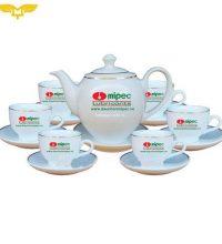 Bộ ấm trà gốm sứ 2